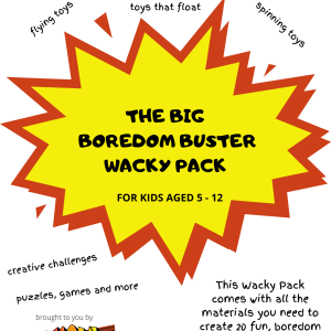 The Big Boredom Buster Wacky Pack