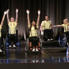 Wheelchair Glee Personalized Toddler Chair This Ones For You Artie  Wheels 19 Recap Gleeks