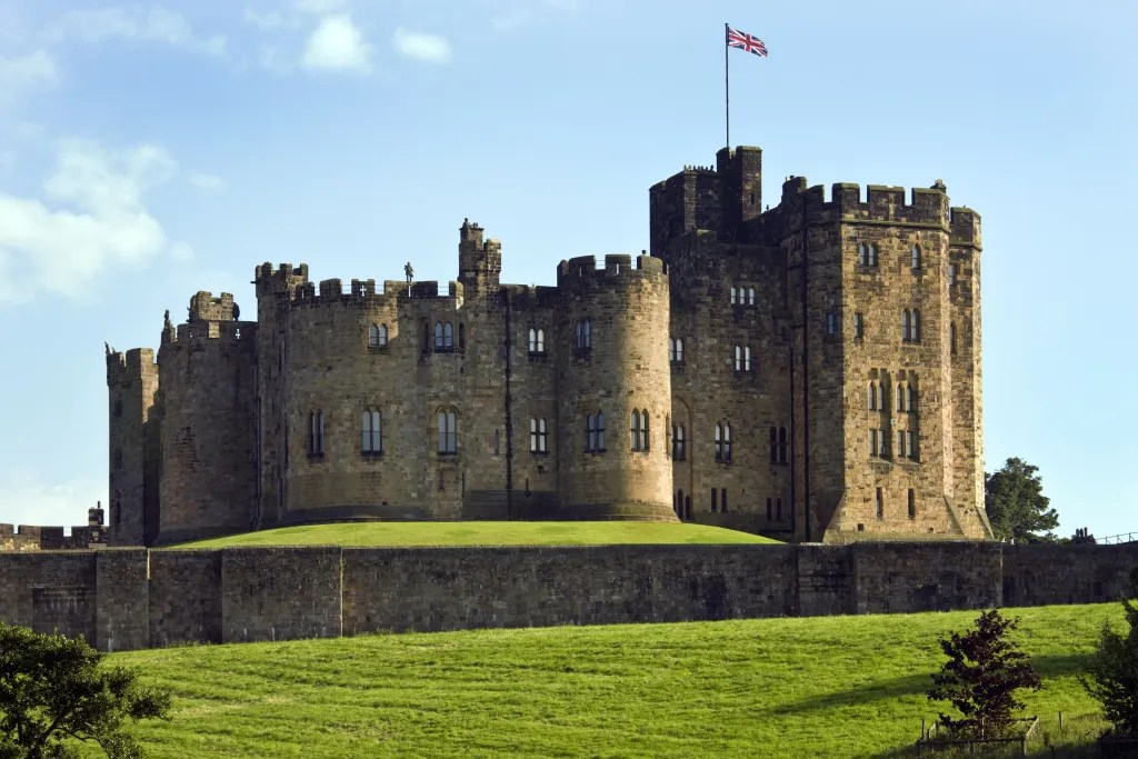 Alnwick Castle in Northumberland