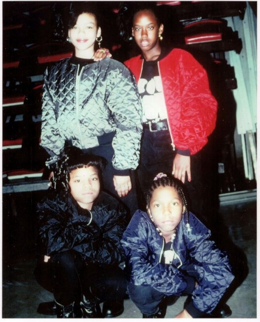 Da'Honeys Tour Music Hall Detroit 1993 (Rare Video)