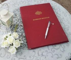 australian marriage register legal requirements