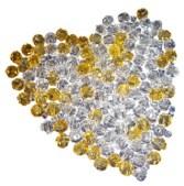 diamond heart wedding ceremony