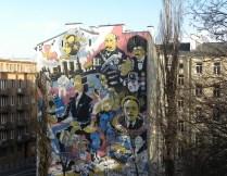 Warsaw--building art