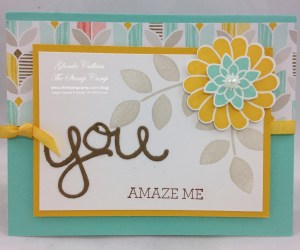 Crazy about You Bonus Card