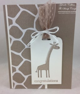Stampin' Up! Zoo Babies #2