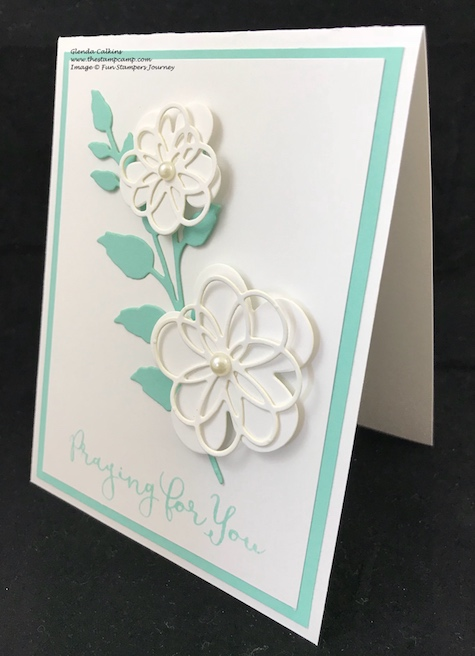 Blooming Details Die, Fun Stampers Journey, glendasblog