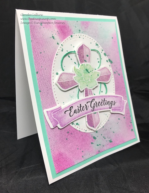 Easter Blessings, Fun Stampers Journey, thestampcamp, Color Splashes