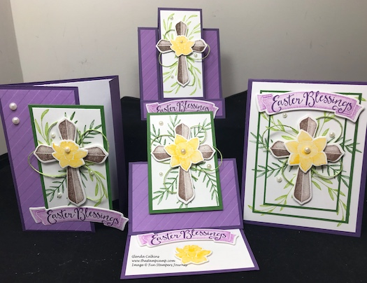 Easter Blessing, Hope Anchors, Fun Stampers Journey, thestampcamp