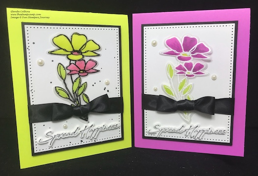 Silks, Fun Stampers Journey, thestampcamp, Spread Happiness
