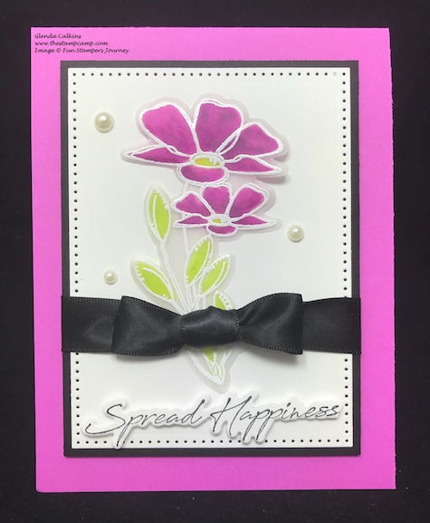 Silks, Fun Stampers Journey, glendasblog, thestampcamp