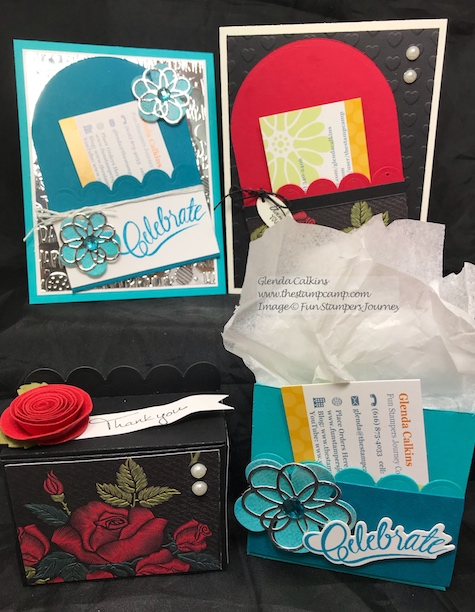 Scallop Pocket Die, Fun Stampers Journey, thestampcamp