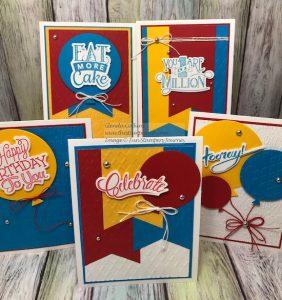 Celebration Script Bundle, Fun Stampers Journey, glendasblog, thestampcamp