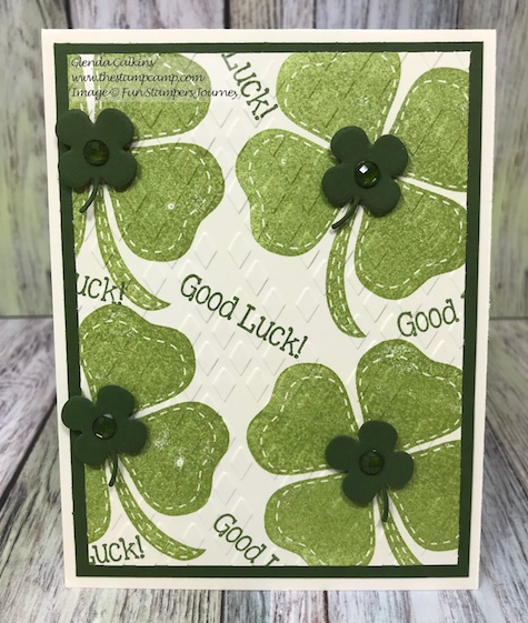 Pot O Gold, I'm Lucky, Fun Stampers Journey, glendasblog, thestampcamp