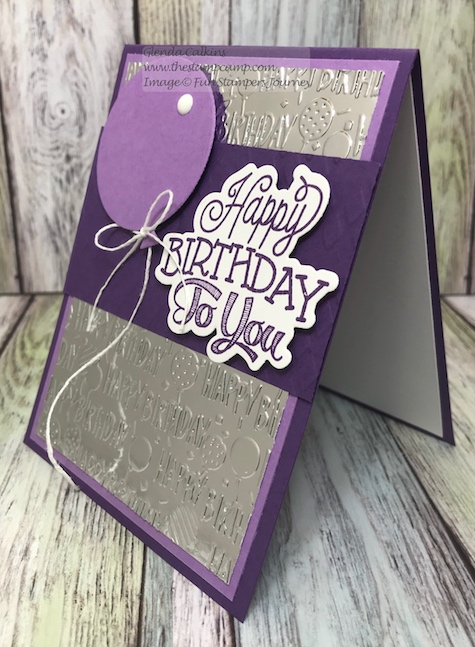 Celebration Script Bundle, Fun Stampers Journey, glendasblog, thestampcamp