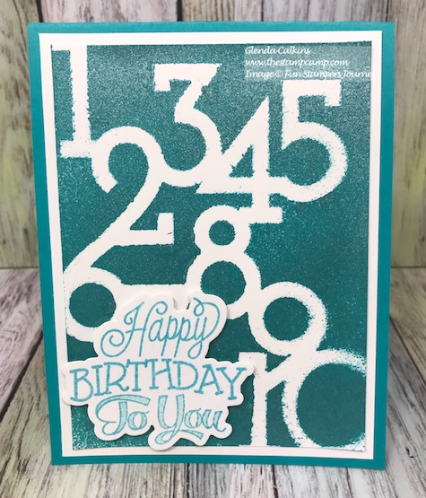 Designer Series Stencil, Fun Stampers Journey, glendasblog, thestampcamp