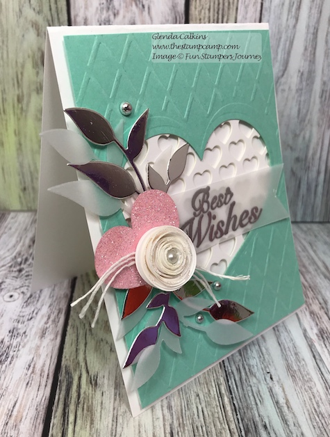 Heart You, Fun Stampers Journey, glendasblog, thestampcamp
