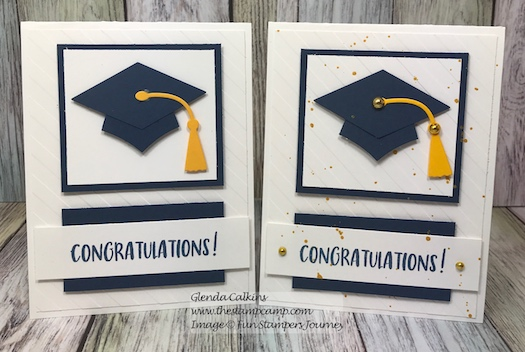 Bravo Grad, Hats Off Die, Fun Stampers Journey, glendasblog