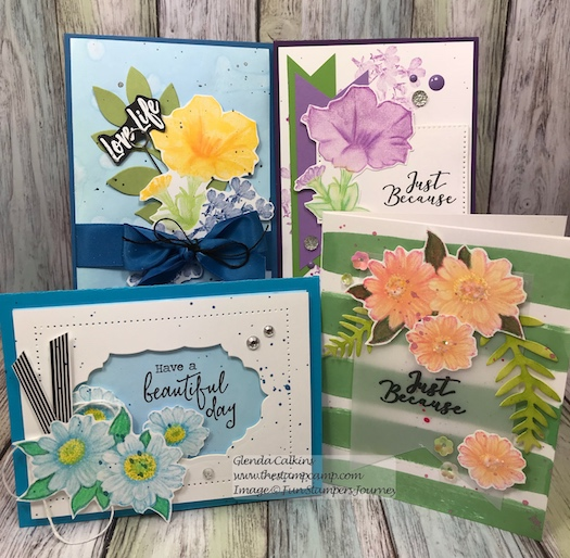 Love Life Bloom Box, Fun Stampers Journey, Glendablog