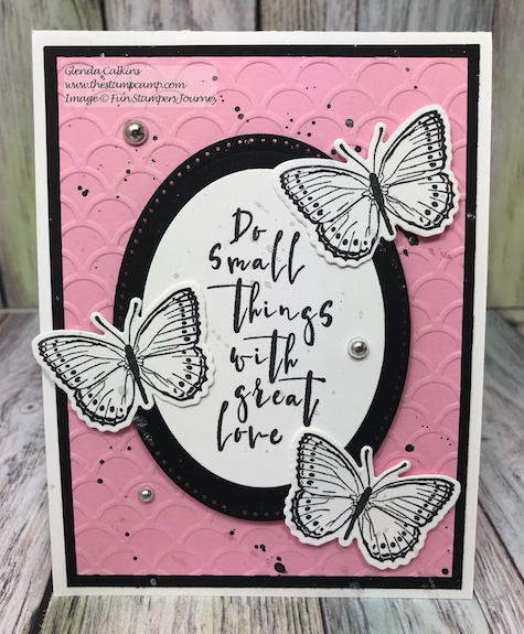 Small Things Bundle, Fun Stampers Journey, glendasblog, thestampcamp