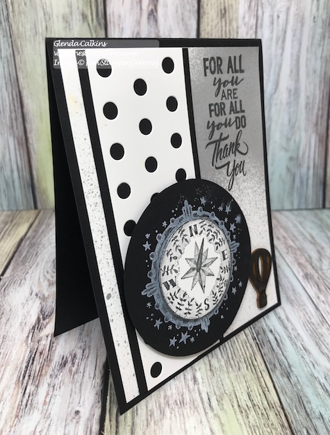 Compass Rose, Lots of Dots, Fun Stampers Journey, thestampcamp