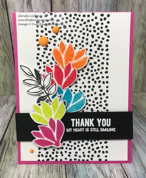 Color Me Happy, Fun Stampers Journey, Bloom Box, glendasblog, thestampcamp