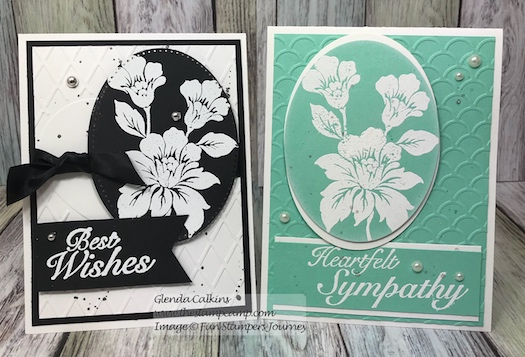 Greeting Bouquet, Fun Stampers Journey, glendasblog, thestampcamp