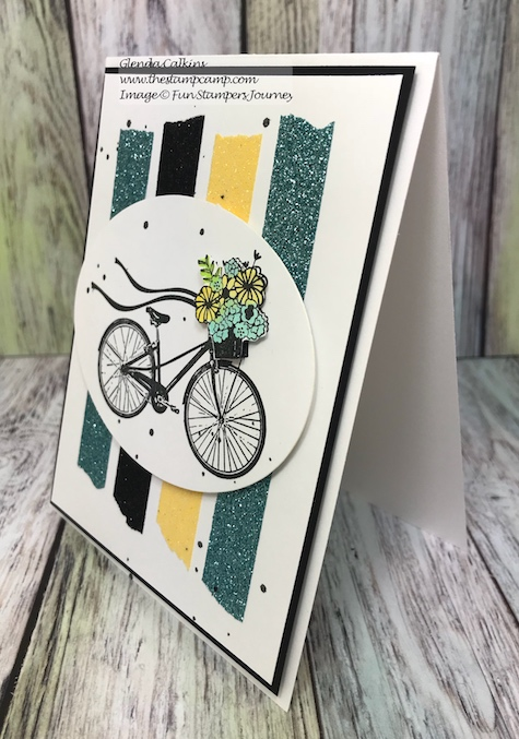Scenic Route, Fun Stampers Journey, glendasblog, thestampcamp