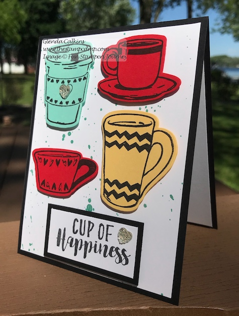 Coffee Helps Bundle, Fun Stampers Journey, the stamp camp, glendasblog