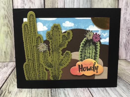 Arizona Trail Bundle, Fun Stampers Journey, glendasblog, the stamp camp