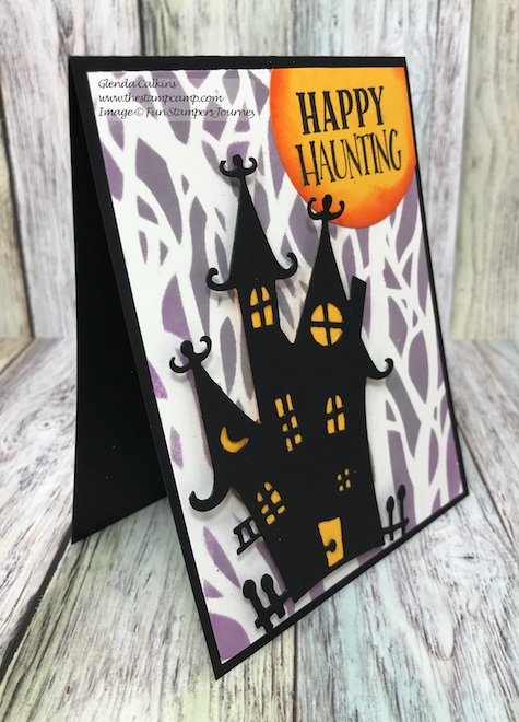 Spooksville Die, Fun Stampers Journey, glendasblog, the stamp camp