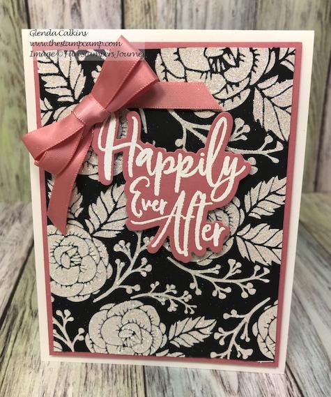 Flower Power, Fun Stampers Journey, glendasblog, the stamp camp