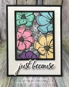 Dream Flowers, Fun Stampers Journey, glendasblog, the stamp camp