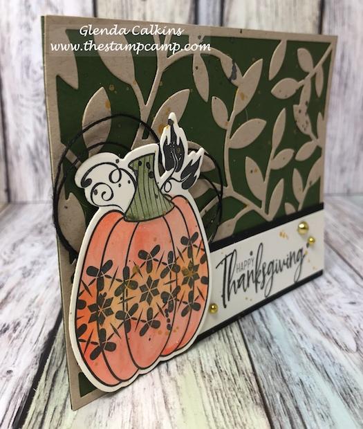 Martha's Pumpkins, Fun Stampers Journey, glendasblog, the stamp camp