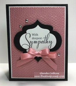 Hope & Strength from Fun Stampers Journey by Glenda Calkins