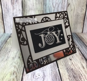 Glimmer Foil Machine from Spellbinders creates a gorgeous inlaid print with your dies. shop.thestampcamp.com #spellbinders, #fsj, #thestampcamp, #foilmachine, #handmadecards