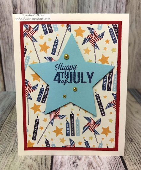 Through the Years printed papers has a print for every month of the year for your cards, scrapbook pages or 3D projects from Fun Stampers Journey. Pair it with the Annual Celebrations stamp set and you can create quick and easy cards for every month of the year. details: www.thestampcamp.com #fourthofjuly #fsj #thestampcamp #handmadecards #crafts