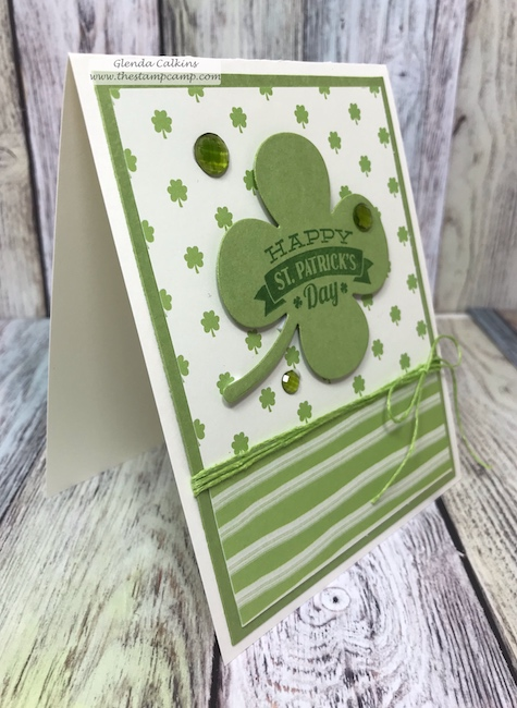 Through the Years printed papers has a print for every month of the year for your cards, scrapbook pages or 3D projects from Fun Stampers Journey.  Pair it with the Annual Celebrations stamp set and you can create quick and easy cards for every month of the year.  details: www.thestampcamp.com #stpatricksday #fsj #thestampcamp #handmadecards #crafts