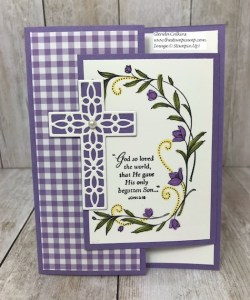 Bonus Card #4 for my Featured Stamp Set His Grace
