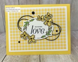 Sending Love with the Floral Frames Bundle