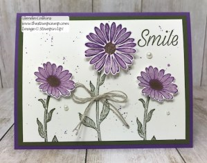 Stampin' Up! Daisy Lane Bundle Bonus Card
