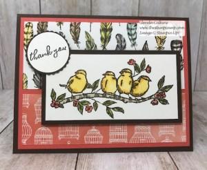 Stampin' Up! Free as a Bird Stamp Set