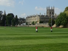 Merton College from the River