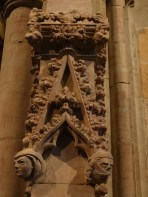 Carving on Chapter house