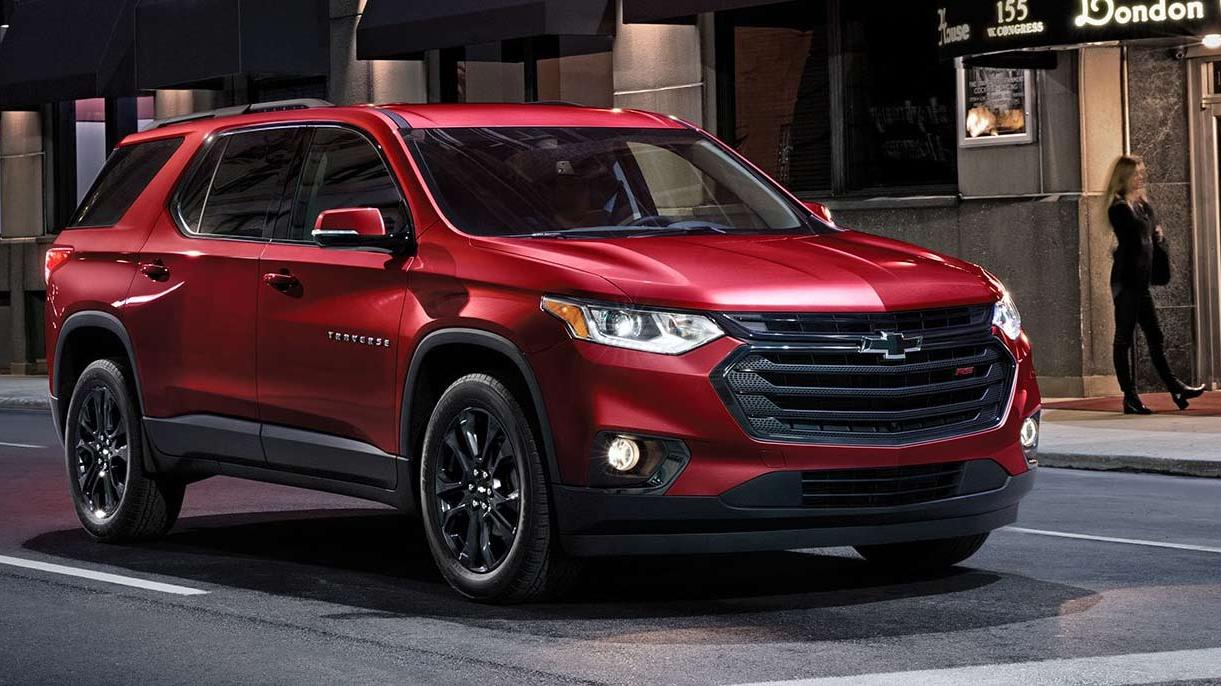 What are the Safety Features on the 2019 Chevy Traverse