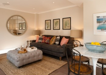 Lounge in London Apartment