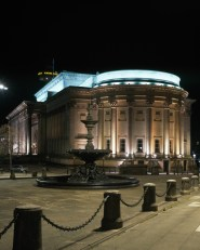 St Georges Hall in Colour at Night