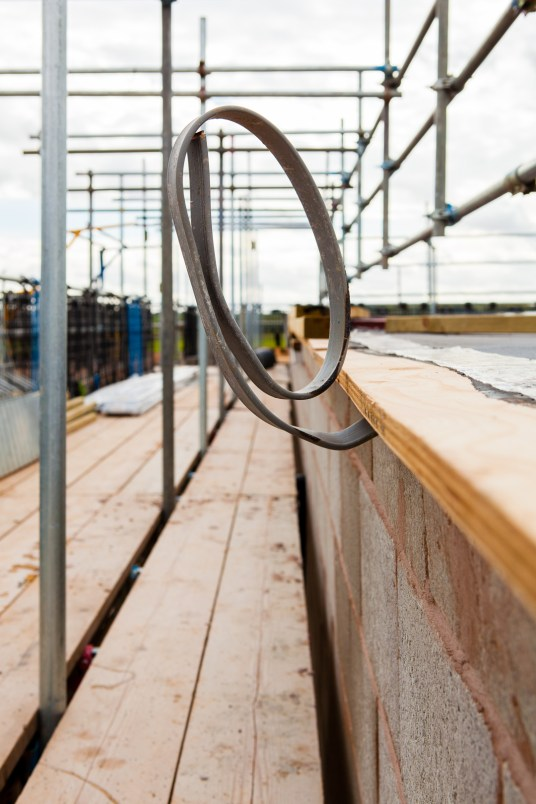 Construction Site Photography - Lightning Conductor