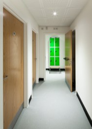 Intimate Architecture - Corridor and Changing Room - Office Building