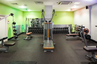 Fitness and weights room