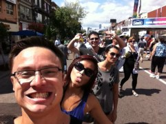 11 Aug 2013. Taste of the Danforth. It's a street not a dish.
